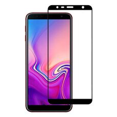 Защитное стекло Samsung Galaxy J4 Plus (2018)/SM-J415/J6 Plus (2018)/J610F 2.5D Full Screen/Cover (black)